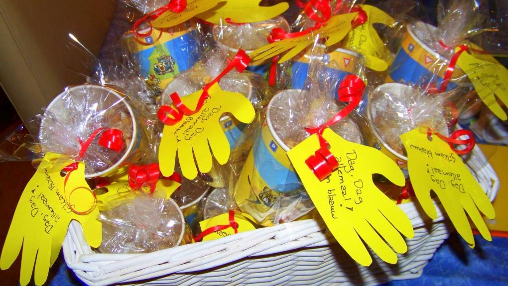 Afscheids Handje Kinderdagverblijf De Geschenkerij