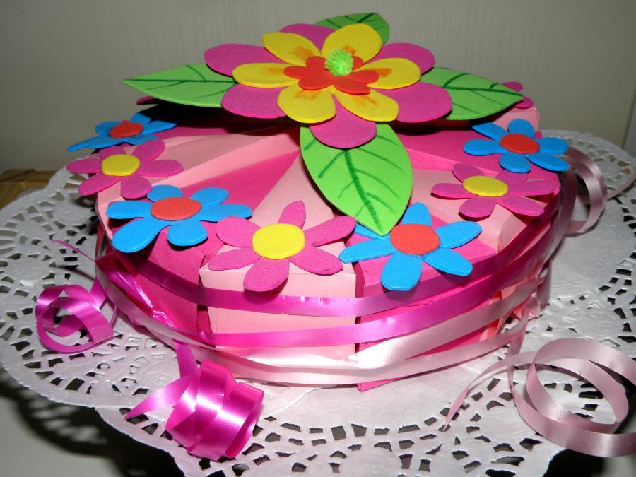 Bloemen Taart Pasen Lente Flower Cake Easter Spring
